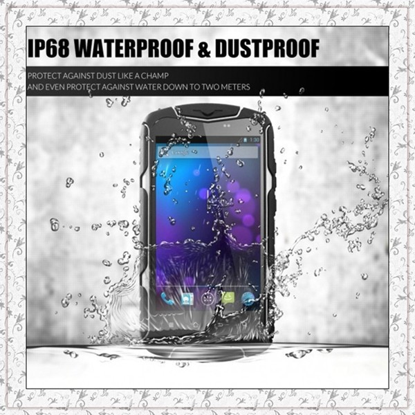 Original NO.1 X1 X-Men IP68 MTK6582 Quad Core 8GB ROM 5800mAh Battery Shock Waterproof Android 4.4 Cell phone