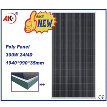 300 watt poly high efficiency solar panel price for india market and home