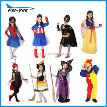 Fancy Dress cosplay Polyester Kids Hero costume Warm Halloween costumes