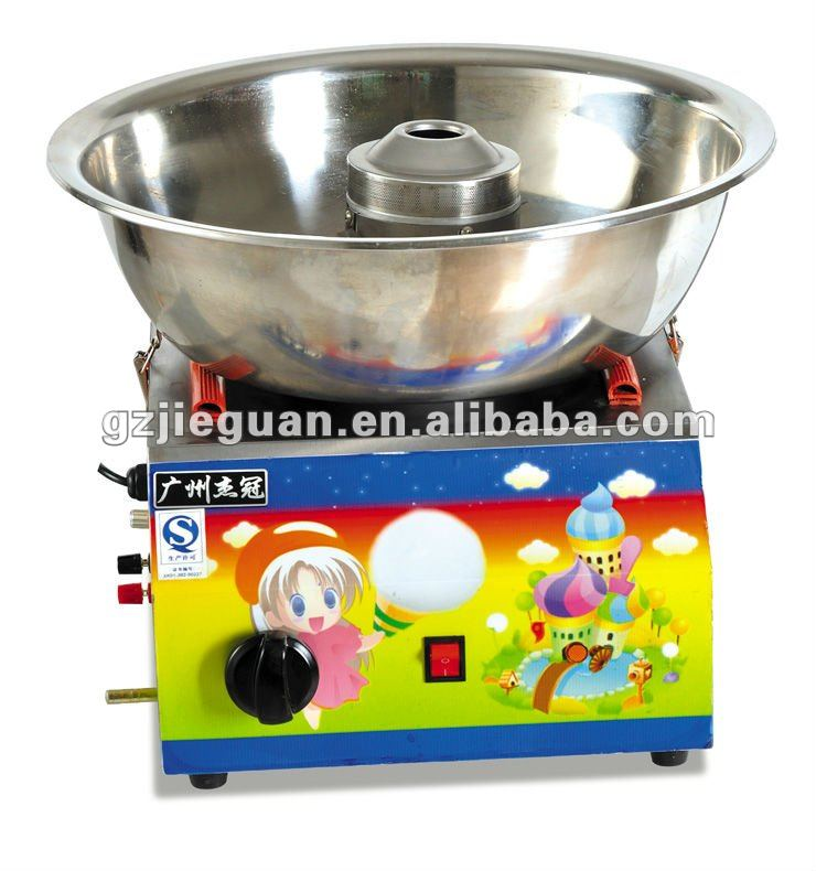 jieguan candy floss maker/home cotton candy maker/cotton candy maker candy floss machine
