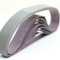 "perfect quality big supplier in china EIGHT 2 1/2"" X 16"" SANDING BELTS 40 50 60 80 100 120 180 220 GRIT with customized size"
