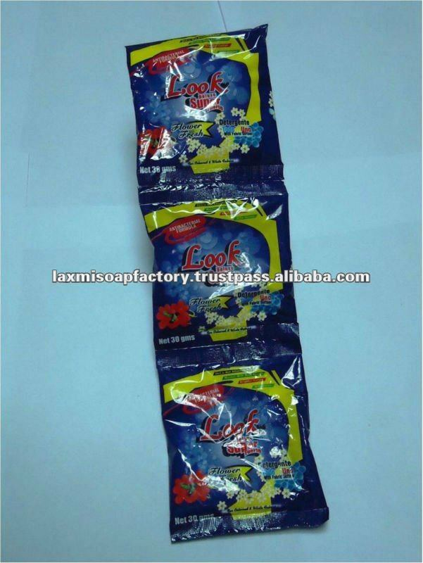 Blue Detergent powder