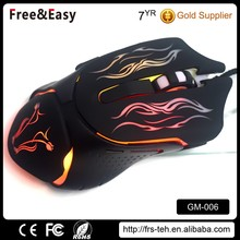 High quality oem brand supplier 6d cheap good rat gaming mouse
