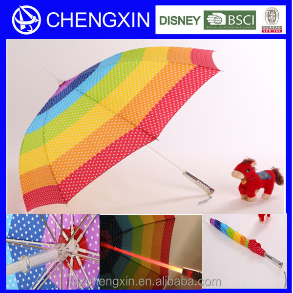 Flash light happy led festival party umbrella for Christmas