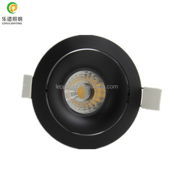 design for Europe dimmable cob led downlight 0-100% dimming 2700k 3000k with ip44 cut hole 83mm high CRI>90