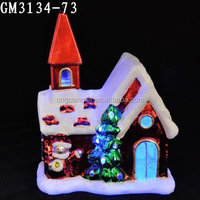 Christmas toy model houses with LED
