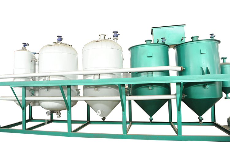 edible oil refinery plant edible oil refining machine for soybean oil refining