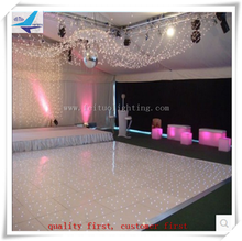 RGBW SMD 5050 LEDS Led Starlit Dance Floor With Aluminum Edge and Acrylic Cover
