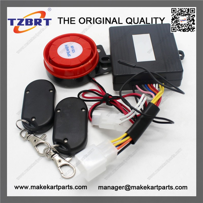 New Listing Motorcycle Bike MA-8D 807B-2 Anti-theft Security Alarm System Remote Control Engine Start
