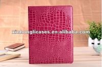 Hot sale Crocodile leather case For iPad