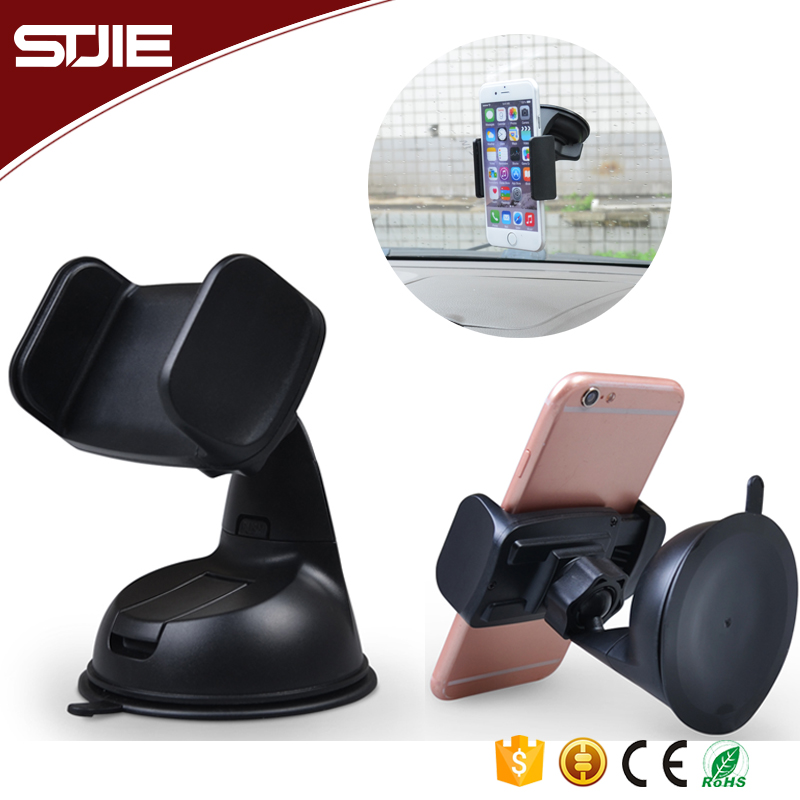 360 Degree Rotating Windshield / Dashboard Universal Cell Phone Mount Mobile Car Phone Holder For Smart Phone