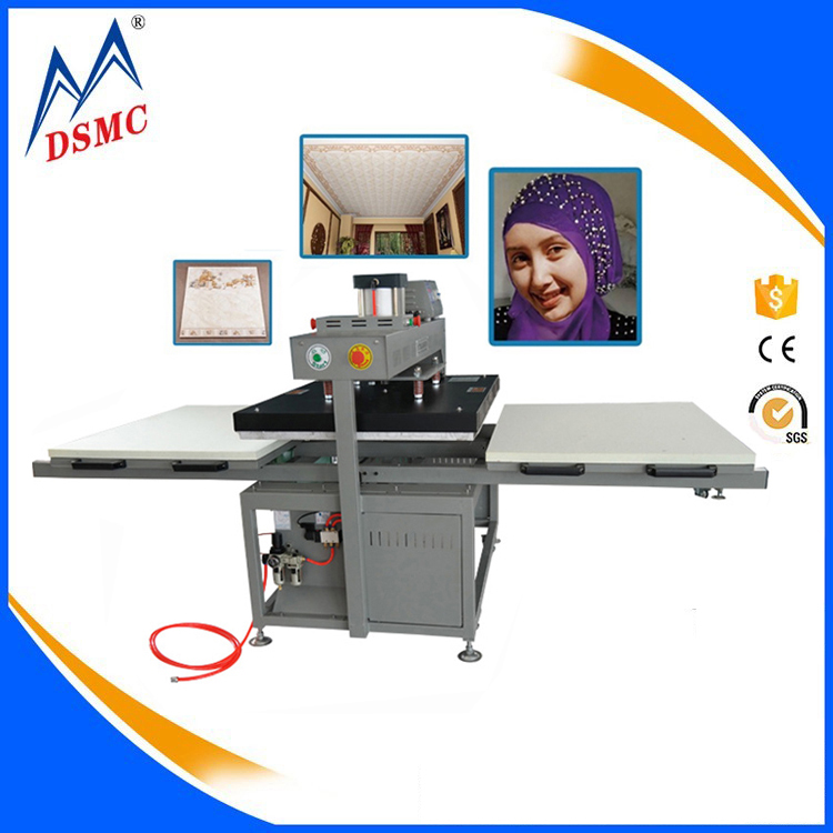 Wholesale price double station heat press transfer t-shirt sublimation printing machine