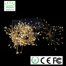 Experienced manufacturer Firework light 2m 300L battery light with timer for festival and holiday decoration