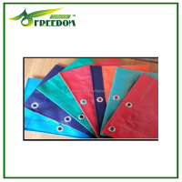 Good quality high strength durable pe custom printed tarps