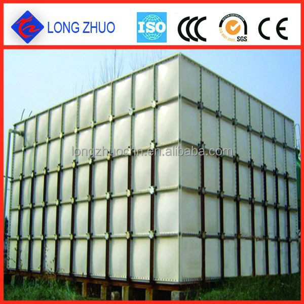 SMC Sectional Water Storage Tank/Thermal insulation fiberglass SMC water tank Grp Water Tank