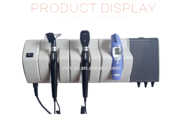 Integrated Wall System VM-U400 Otoscope Ophthalmoscope Set