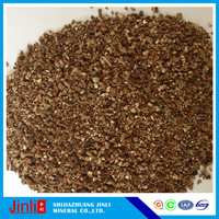 vermiculite fireproof in construction and for friction &sealing material