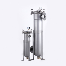 20 Micron 5 Micron Stainless Steel Filter Bag Housing For Water Treatment