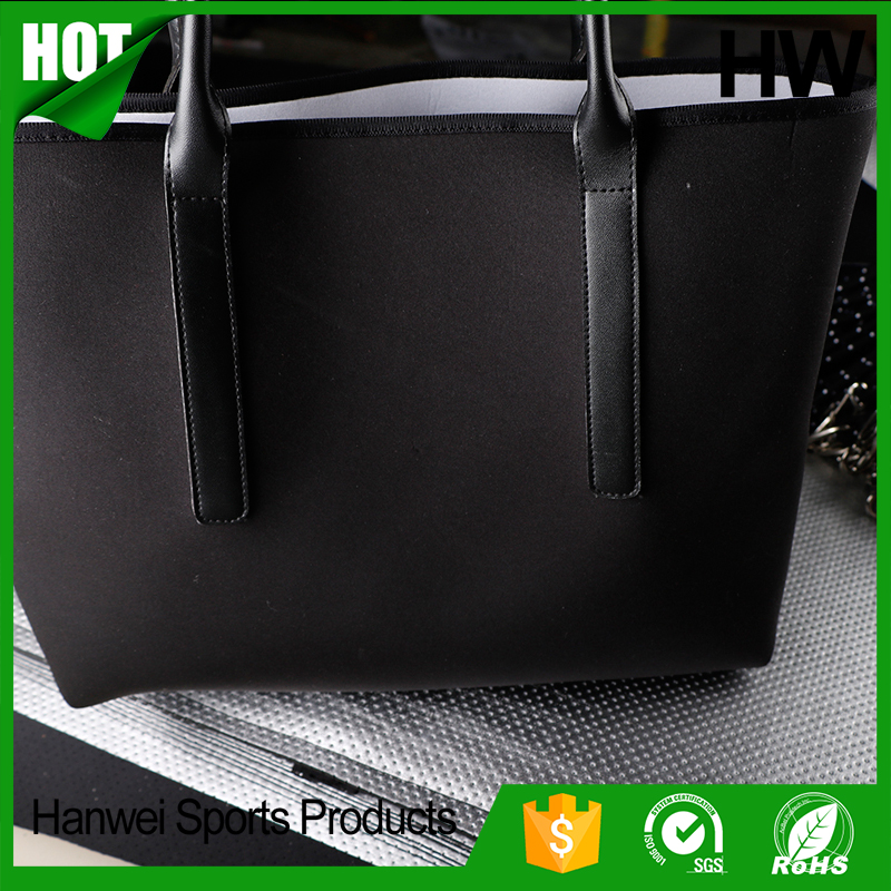 China factory direct Latest style OEM wholesale neoprene shoulder ladies handbag
