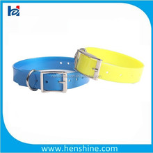 glow fluo yellow fancy dog collars for small dogs