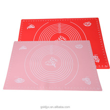 factory direct sale kitchen silicon cooking mats,food grade silicon table cloth