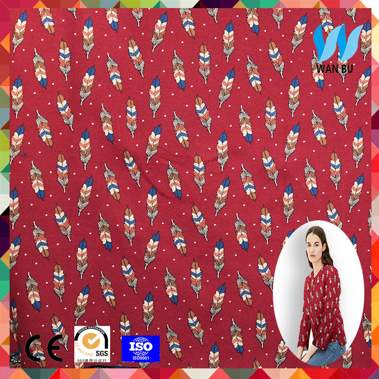 China wholesale Cheap plain dyed custom cotton printed fabric