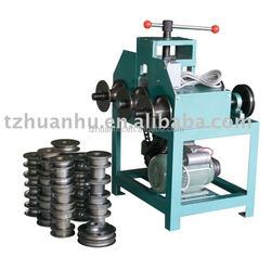 Rolling Pipe Bending Machine HHW-G76, motor driven,green color