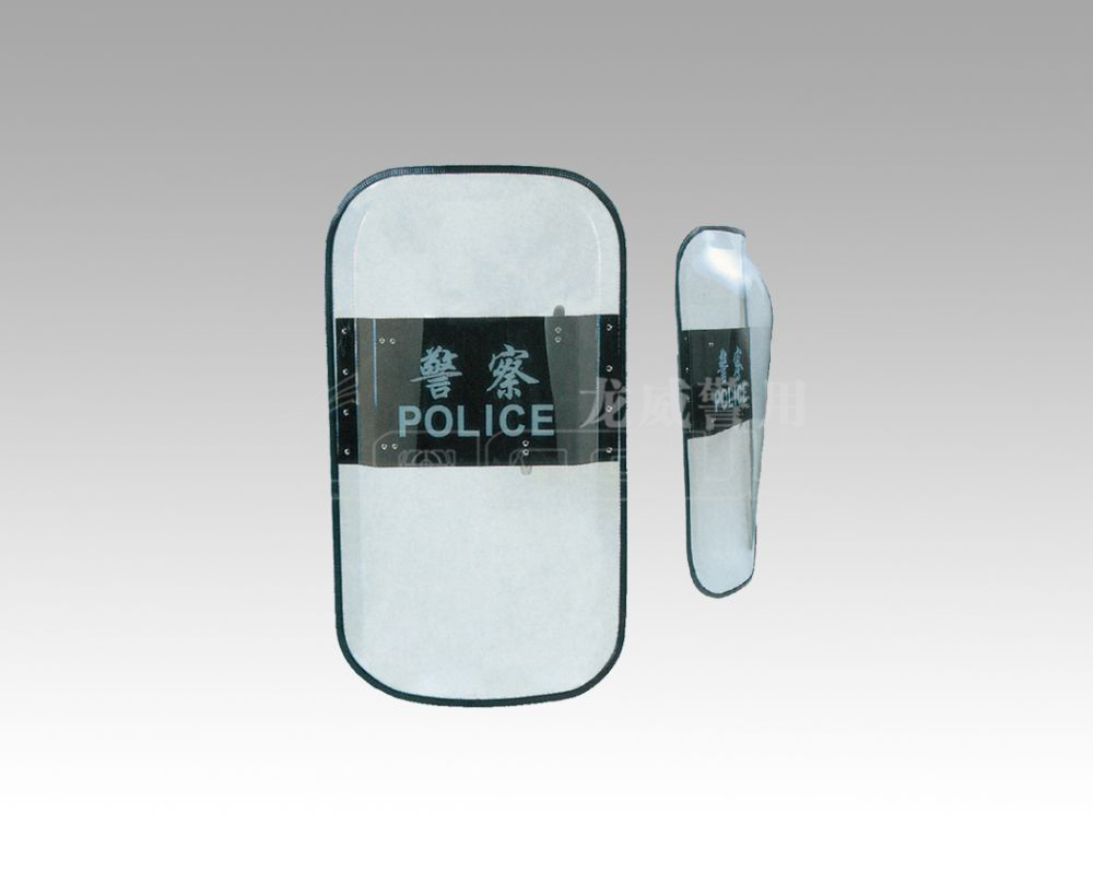 China factroy polycarbonate bullet proof riot shield sale