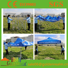 promotional outdoor fold gazebo tent,White 10x10 ft Easy POP Up Wedding Party Tent With Side Walls