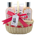 Pure Spa body wash set pomegranate perfumed bath gift sets shower gel bubble bath body lotion