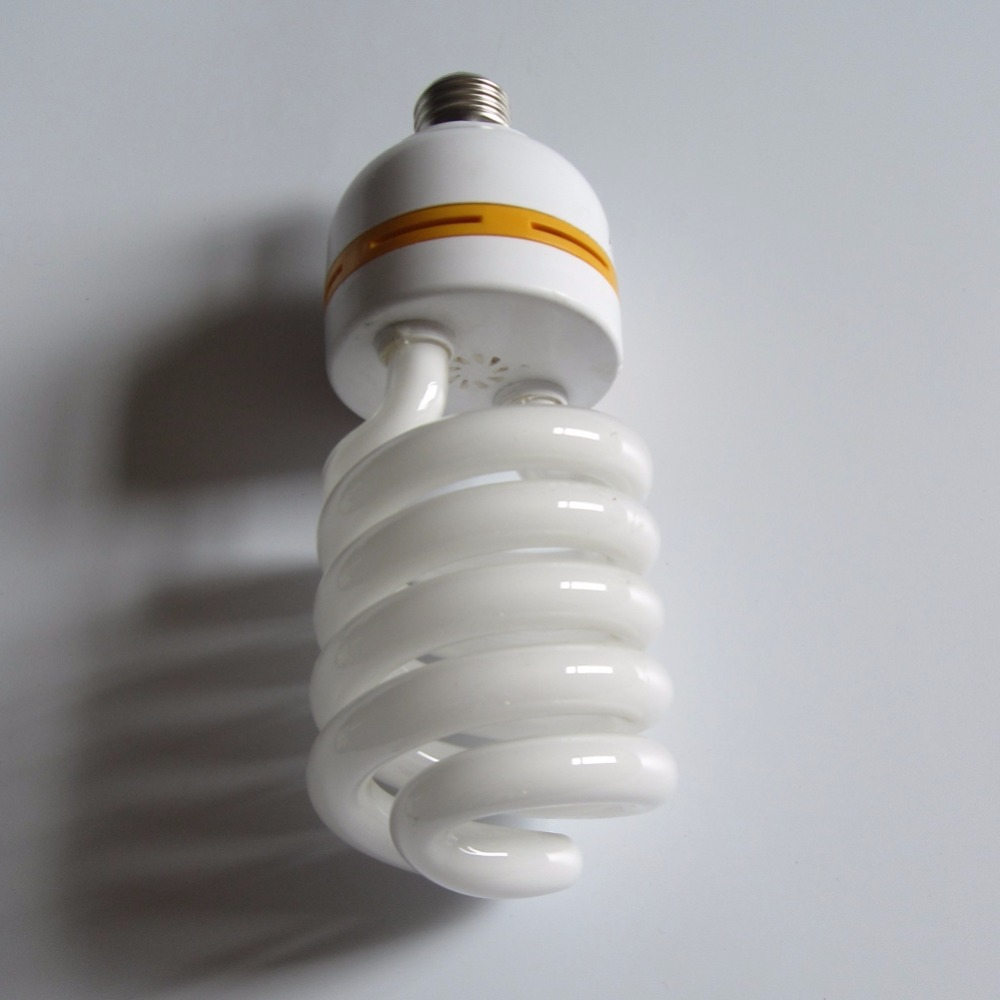 high watts 105w e27 mixed power big half spiral cfl light