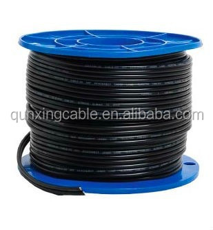 Jiukai black and red UL certificate class5 stranded copper 6 gauge pv cable and connector