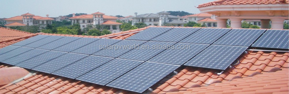 Photovoltaik product CE RoHS approval solar powered systems 8kw