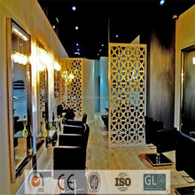 Decorative Partitions Salon Divider Stainless Steel Room Divider