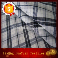 dark white check cloth drilling cloth with custom