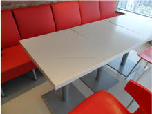 Chinese factory acrylic solid surface coffee tables furniture,KFC Table