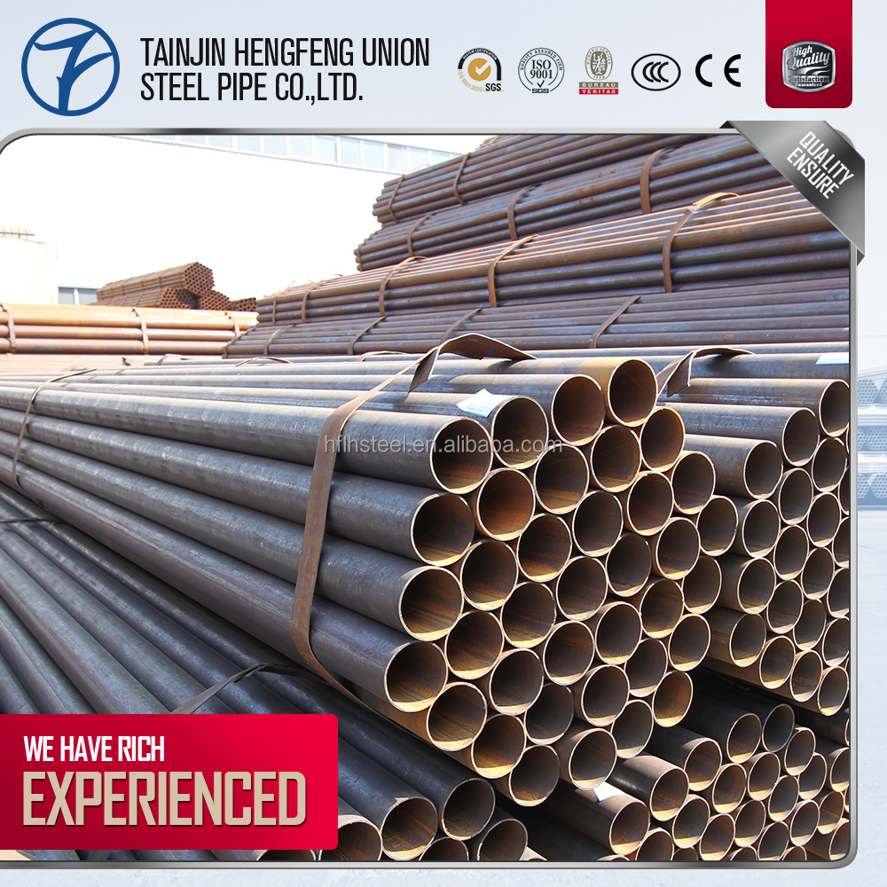 good price for low carbon steel weld pipe with per kg per ton