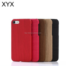 Hot selling wooden grain leather case mobile phone case for htc one m9 plus cover