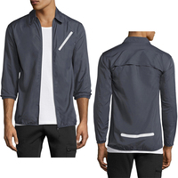 online shopping wholesale mens clothes men Windcheater Shell Top jacket coat