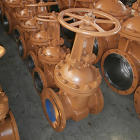 Double Flange Reliably Sealing High Press Cast Steel Gate Valve