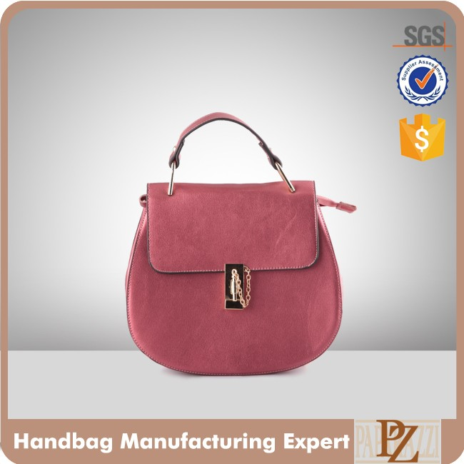 5297 Paparazzi SGS approval Top Handle Medium Size PU Handbags Women's satchel bags 2016 fashioin ladies leather messenger bag