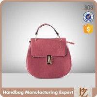 5297 Top Handle Medium Size PU Handbags Women's satchel bags 2016