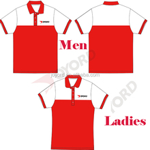 Sublimated Color Combination Polo Shirts