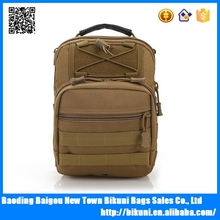 Wholesale outdoor sport bag waterproof military chest bag with handle