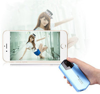 2016 hot selling portable mobile power bank bluetooth selfie charger