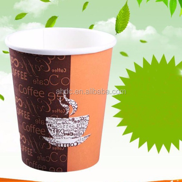 wholesale disposable hot drink papercup coffee