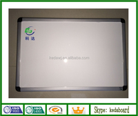 Magnetic whiteboard with classical aluminum frame