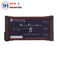 Top Quality DPA5 Scanner Dearborn Protocol Adapter5 Heavy-Duty Truck Diagnostic Tool DPA 5 USB Diagnostic Tool Without Bluetooth