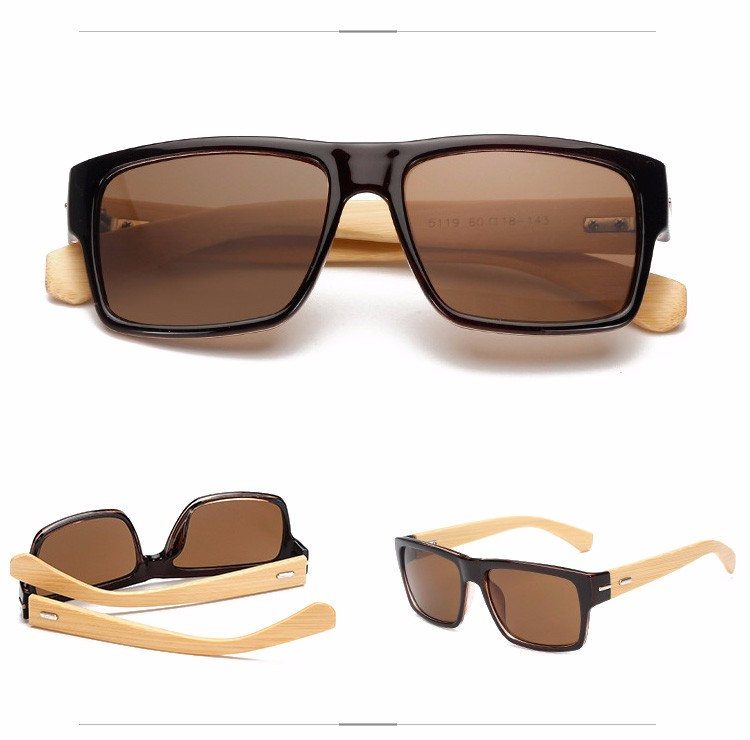 Promotional China YNJN new style anti radiation brand your own natural sun glasses bamboo