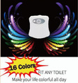 Amazon Hot Sales16 Colors Changing Sensor Light LED Toilet
